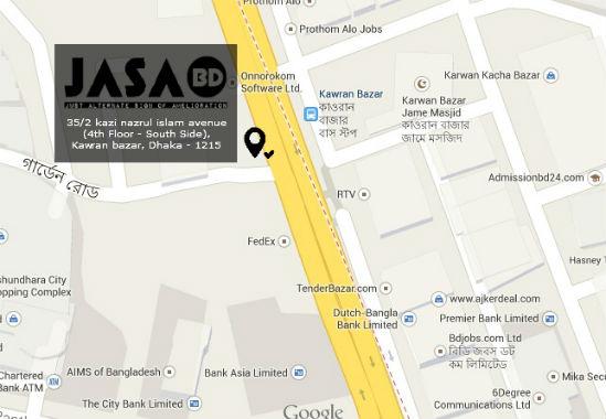 Map Jasa
